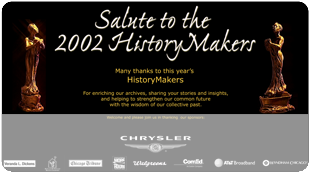 Salute to The HistoryMakers (Chicago 2002)