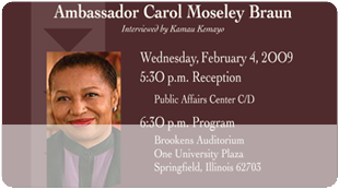 Agents of Change: Carol Moseley Braun