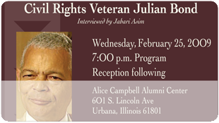Agents of Change: Julian Bond