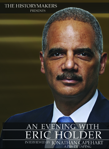 An Evening With Eric Holder DVD