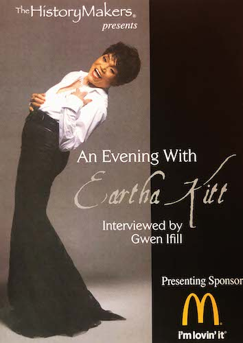 An Evening With Eartha Kitt