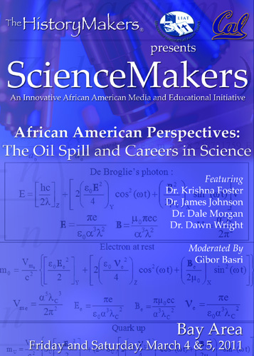 ScienceMakers: African American Perspectives: The Deepwater Horizon Oil Spill & Careers in Science