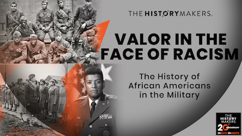 Valor In The Face of Racism Graphic