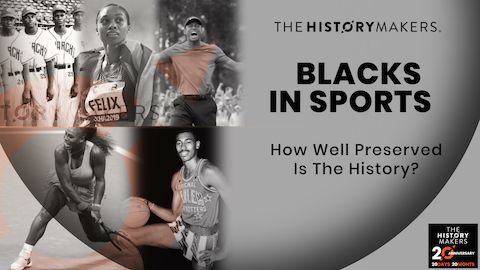 Blacks in Sports Graphic