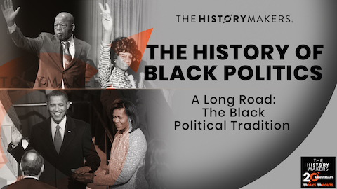 The History of Black Politics Graphic