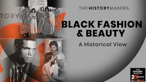 Black Fashion & Beauty Graphic