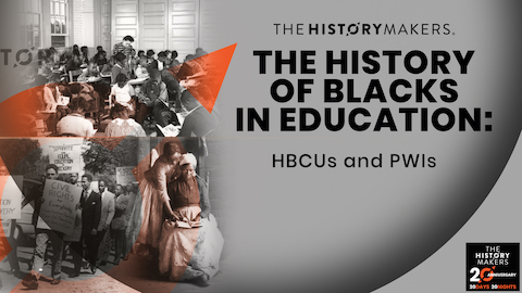 The History of Blacks in Education Graphic