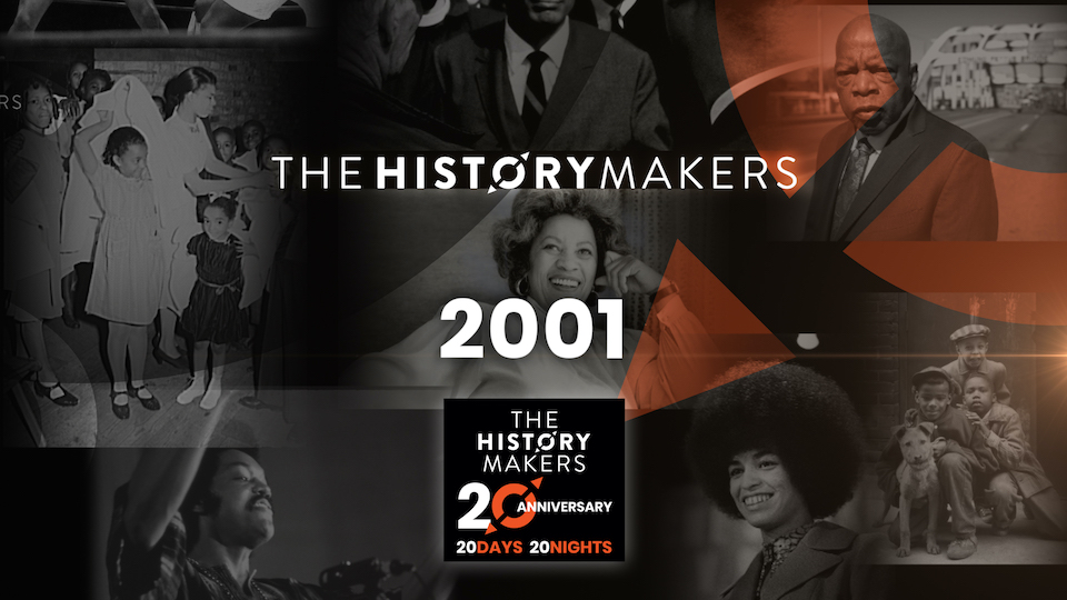 The HistoryMakers 2001 graphic