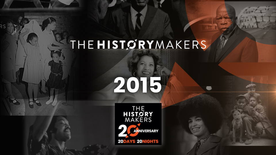The HistoryMakers 2015 graphic