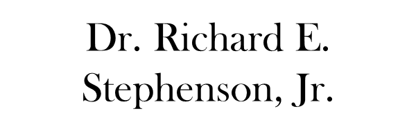 Dr. Richard E. Stephenson, Jr